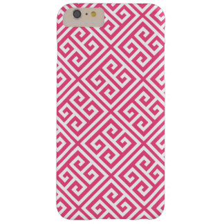 Coque Barely There iPhone 6 Plus Motif principal grec de roses indien