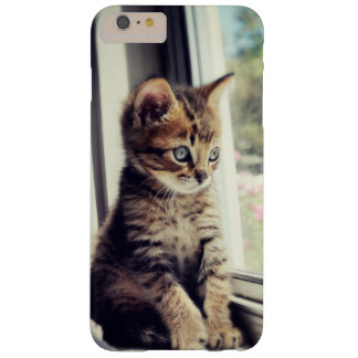 Coque Barely There iPhone 6 Plus Observation tigrée de chaton