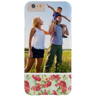 Coque Barely There iPhone 6 Plus Oeillets rouges et papillons de photo faite sur