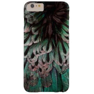 Coque Barely There iPhone 6 Plus Oiseau superbe d'abrégé sur plume de paradis