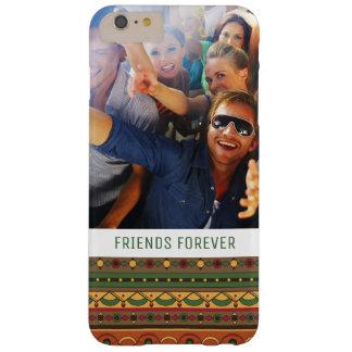 Coque Barely There iPhone 6 Plus Origine ethnique faite sur commande de photo et de
