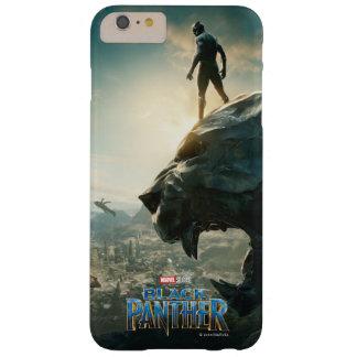 Coque Barely There iPhone 6 Plus Panthère noire noire de la panthère | se tenant