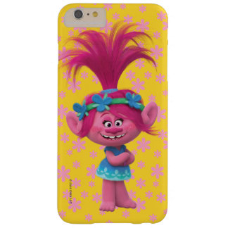 Coque Barely There iPhone 6 Plus Pavot des trolls | - reine des trolls