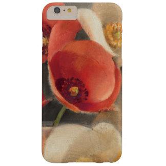 Coque Barely There iPhone 6 Plus Pavots en pleine floraison