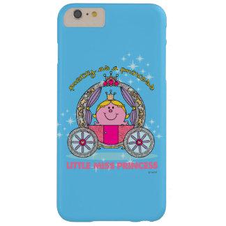 Coque Barely There iPhone 6 Plus Petit chariot de scintillement de Mlle le