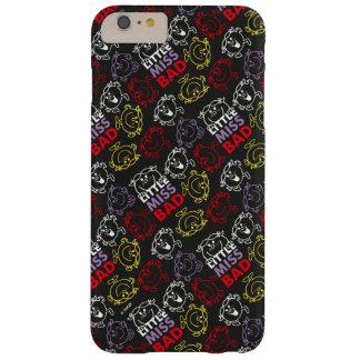 Coque Barely There iPhone 6 Plus Petite Mlle Bad   motif noir, de rouge et de jaune