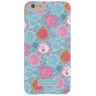 Coque Barely There iPhone 6 Plus Petite Mlle le princesse   motif assez rose et
