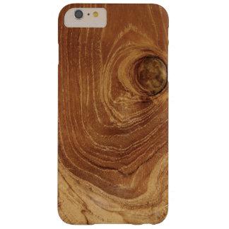 Coque Barely There iPhone 6 Plus Photo en bois rustique Blackberry Casemate de teck