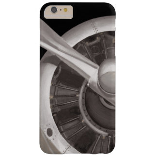 Coque Barely There iPhone 6 Plus Plan rapproché de propulseur d'avion