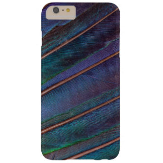 Coque Barely There iPhone 6 Plus Plumes bleues de Turaco