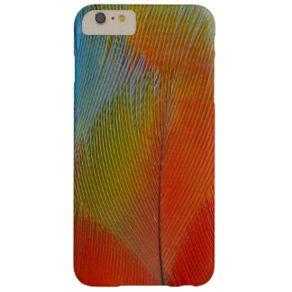Coque Barely There iPhone 6 Plus Plumes Faucon-Dirigées de perroquet