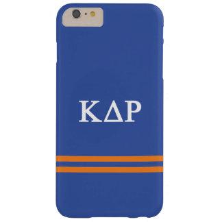 Coque Barely There iPhone 6 Plus Rayure de sport du Rho | de delta de Kappa