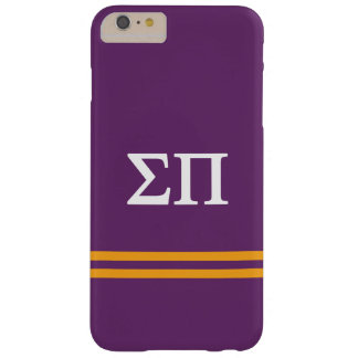Coque Barely There iPhone 6 Plus Rayure de sport du sigma pi |