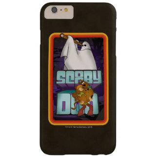 Coque Barely There iPhone 6 Plus Recherche de fantôme de Scooby-Doo   hirsute et