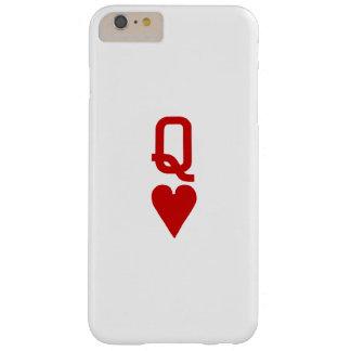 Coque Barely There iPhone 6 Plus Reine de l'iPhone 6/6S de coeurs plus à peine là