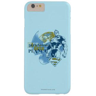 Coque Barely There iPhone 6 Plus Superman | défendant la planète