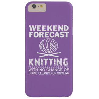 COQUE BARELY THERE iPhone 6 PLUS TRICOT DE PRÉVISION DE WEEK-END