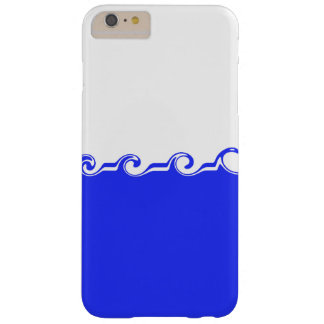 Coque Barely There iPhone 6 Plus Vagues bleues