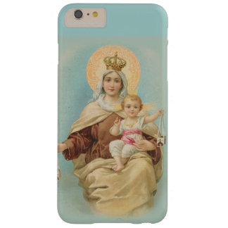 Coque Barely There iPhone 6 Plus Vierge Marie le mont Carmel Jésus omoplate