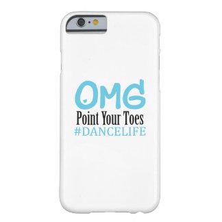 Coque Barely There iPhone 6 Point drôle d'Omg de professeur de cadeau de danse