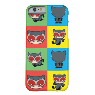 Coque Barely There iPhone 6 Poses de caractère de Catwoman de Chibi