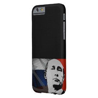Coque Barely There iPhone 6 Poutine avec le drapeau russe
