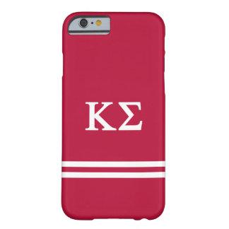 Coque Barely There iPhone 6 Rayure de sport du sigma   de Kappa