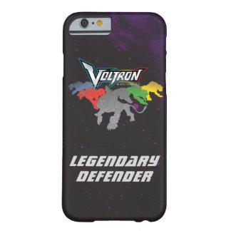 Coque Barely There iPhone 6 Remplissage de lions de Voltron |