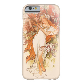 Coque Barely There iPhone 6 Ressort - art Nouveau d'Alphonse Mucha