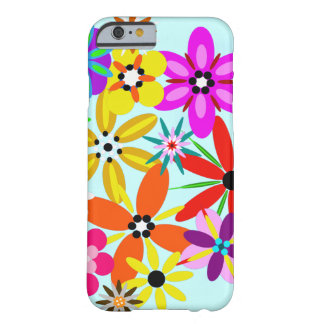 Coque Barely There iPhone 6 Rétros fleurs florales