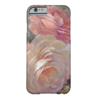 Coque Barely There iPhone 6 Roses avec le gris