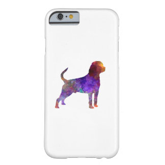 Coque Barely There iPhone 6 Rottweiler in watercolor