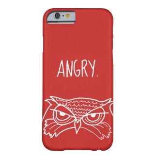 Coque Barely There iPhone 6 Rouge minimaliste ironique drôle fâché de cool de