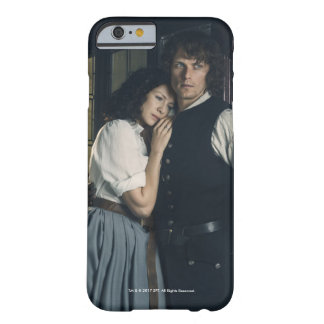 Coque Barely There iPhone 6 Saison 3 % pipe% Jamie d'Outlander et affection de