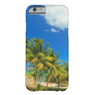 Coque Barely There iPhone 6 Station balnéaire tropicale, Belize