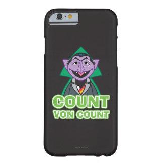 Coque Barely There iPhone 6 Style 2 de von Count Classic de compte