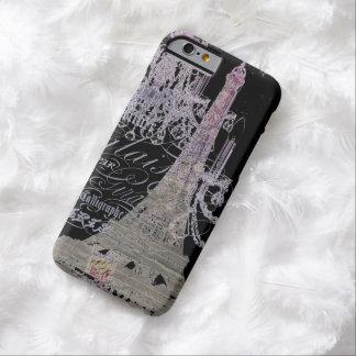 Coque Barely There iPhone 6 Tour Eiffel chic assez girly de Paris d'amour d'I