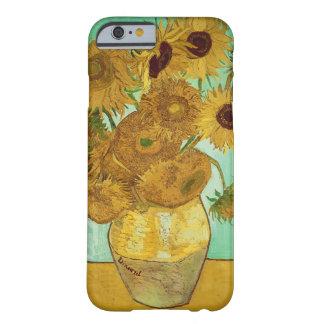Coque Barely There iPhone 6 Tournesols de Vincent van Gogh |, 1888