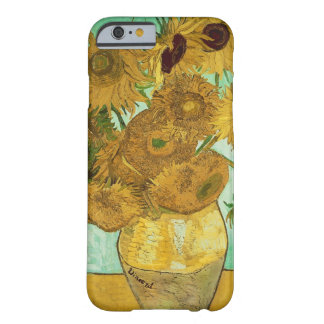 Coque Barely There iPhone 6 Tournesols de Vincent van Gogh |, 1888