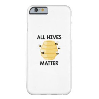 Coque Barely There iPhone 6 Toute la matière de ruches