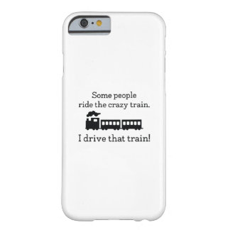 Coque Barely There iPhone 6 Train fou