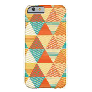 Coque Barely There iPhone 6 Triangle colorligne