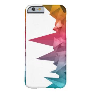 Coque Barely There iPhone 6 triangles colorées de cas de téléphone de l'iPhone