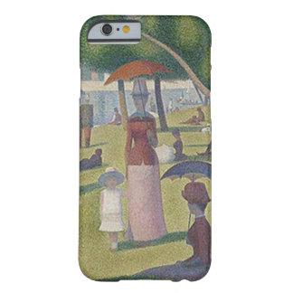 Coque Barely There iPhone 6 Un ~ Georges Seurat d'après-midi de Sundy