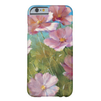Coque Barely There iPhone 6 Un jardin floral rose