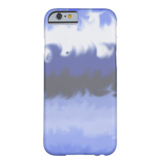 Coque Barely There iPhone 6 vagues bleues