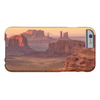 Coque Barely There iPhone 6 Vallée de monument pittoresque, Arizona