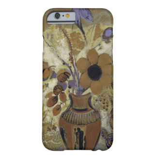 Coque Barely There iPhone 6 Vase à Etruscan avec des fleurs