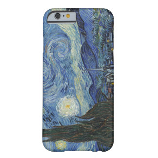Coque Barely There iPhone 6 Vincent van Gogh | la nuit étoilée, juin 1889