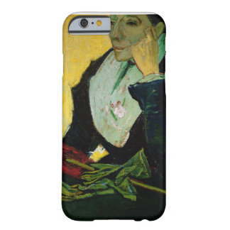 Coque Barely There iPhone 6 Vincent van Gogh | L'Arlesienne, détail, 1888